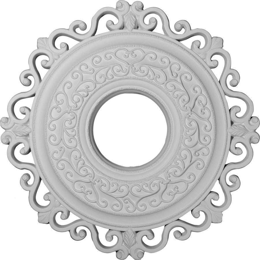 Ekena Millwork Orrington 22-in x 22-in Polyurethane Ceiling Medallion