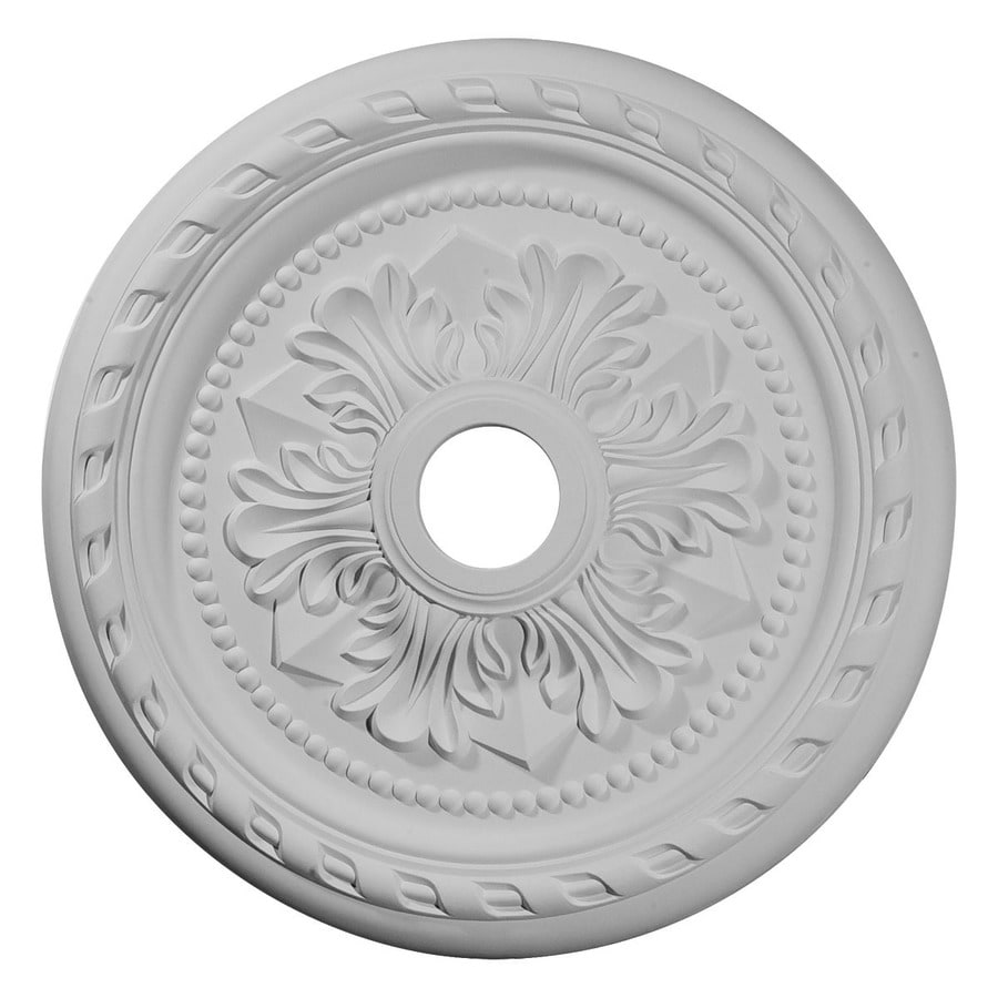 Ekena Millwork Palmetto 23.625-in x 23.625-in Polyurethane Ceiling Medallion