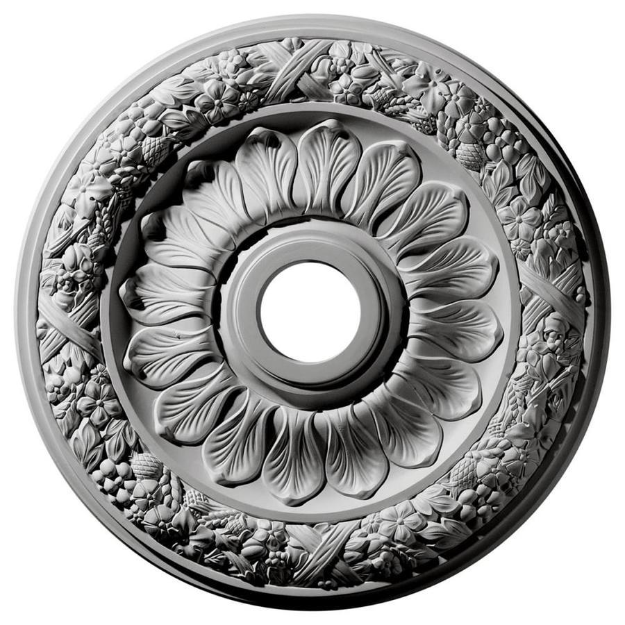 Ekena Millwork Swindon 24-in x 24-in Polyurethane Ceiling Medallion