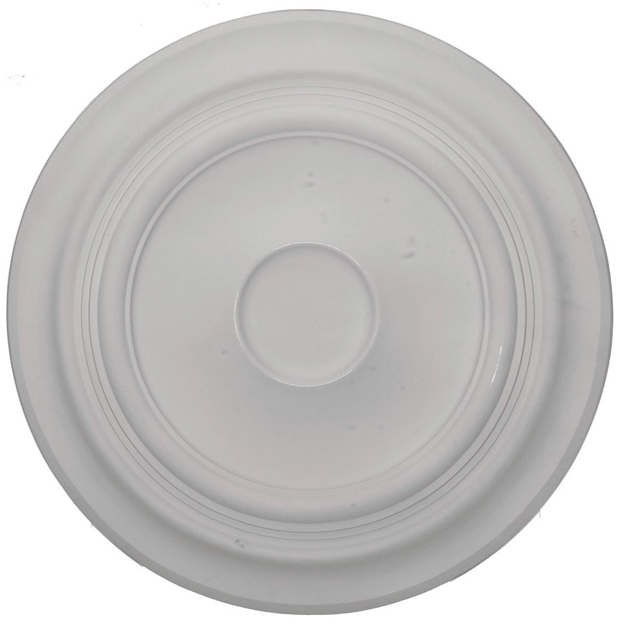 Ekena Millwork Traditional 24.375-in x 24.375-in Polyurethane Ceiling Medallion