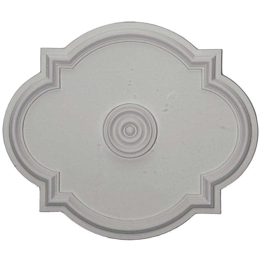 Ekena Millwork Waltz 24-in x 20.5-in Polyurethane Ceiling Medallion