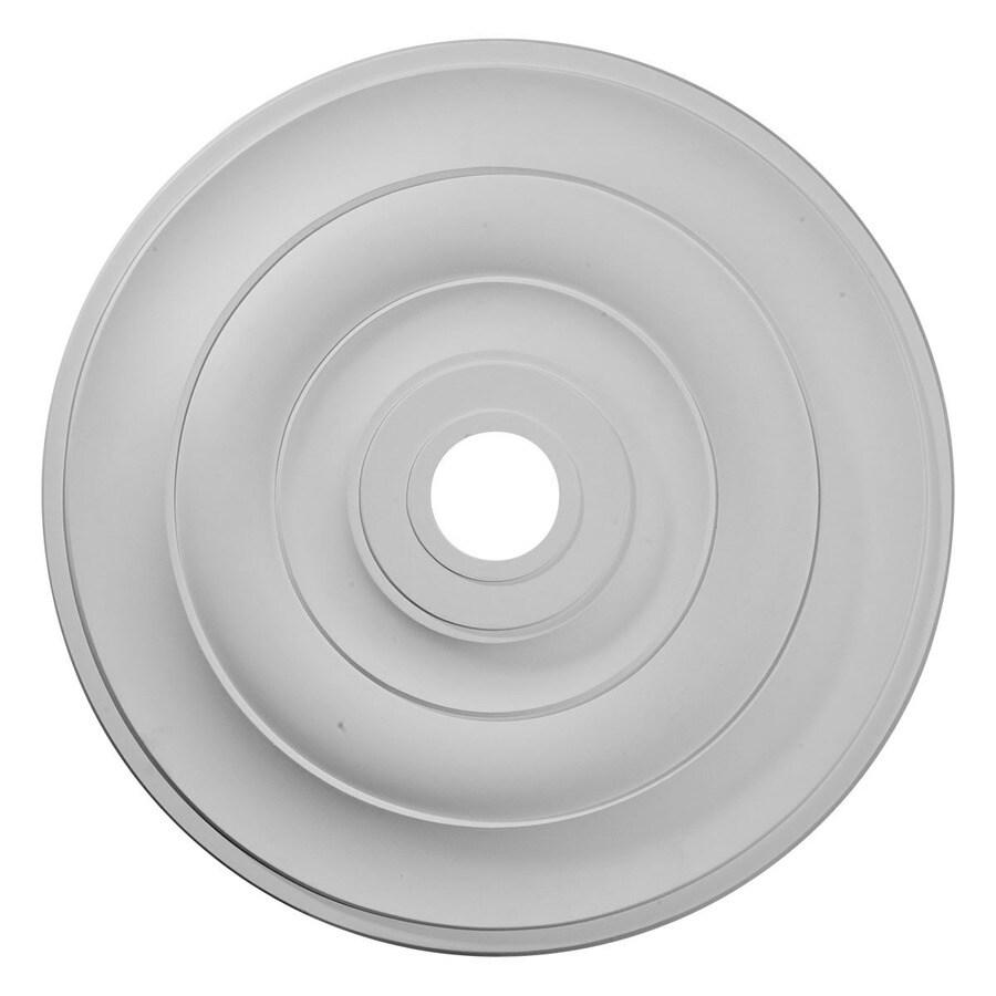 Ekena Millwork Jefferson 26.5-in x 26.5-in Polyurethane Ceiling Medallion