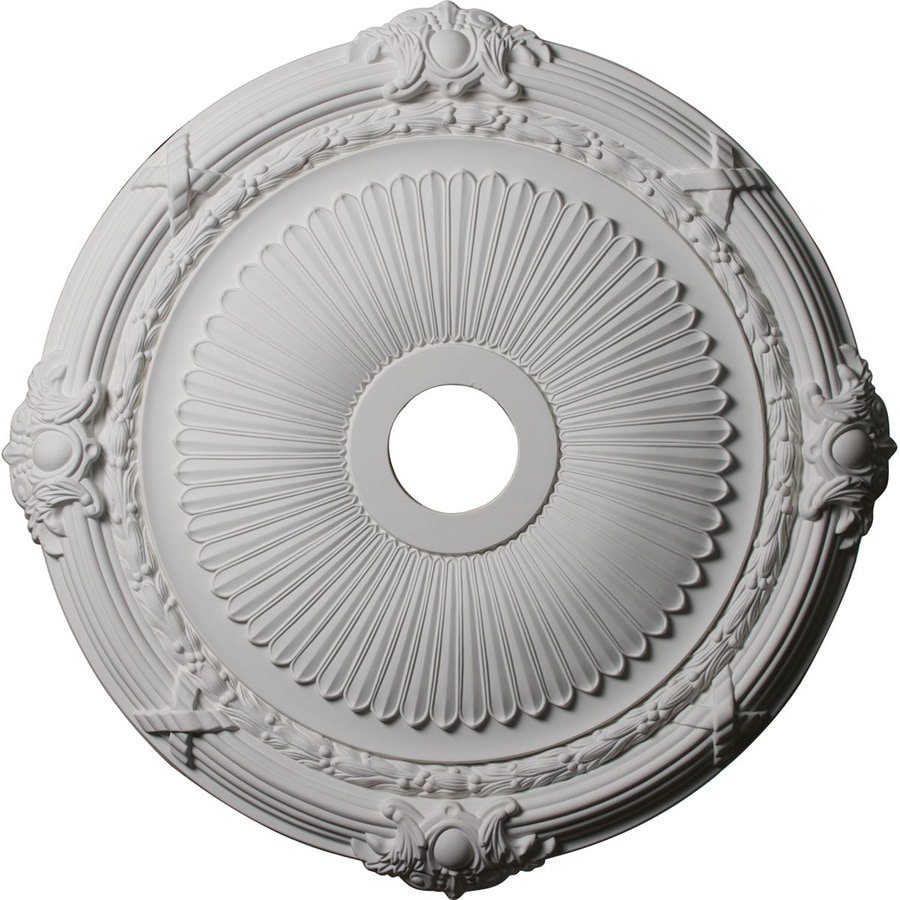 Ekena Millwork Heaton 27.5-in x 27.5-in Polyurethane Ceiling Medallion