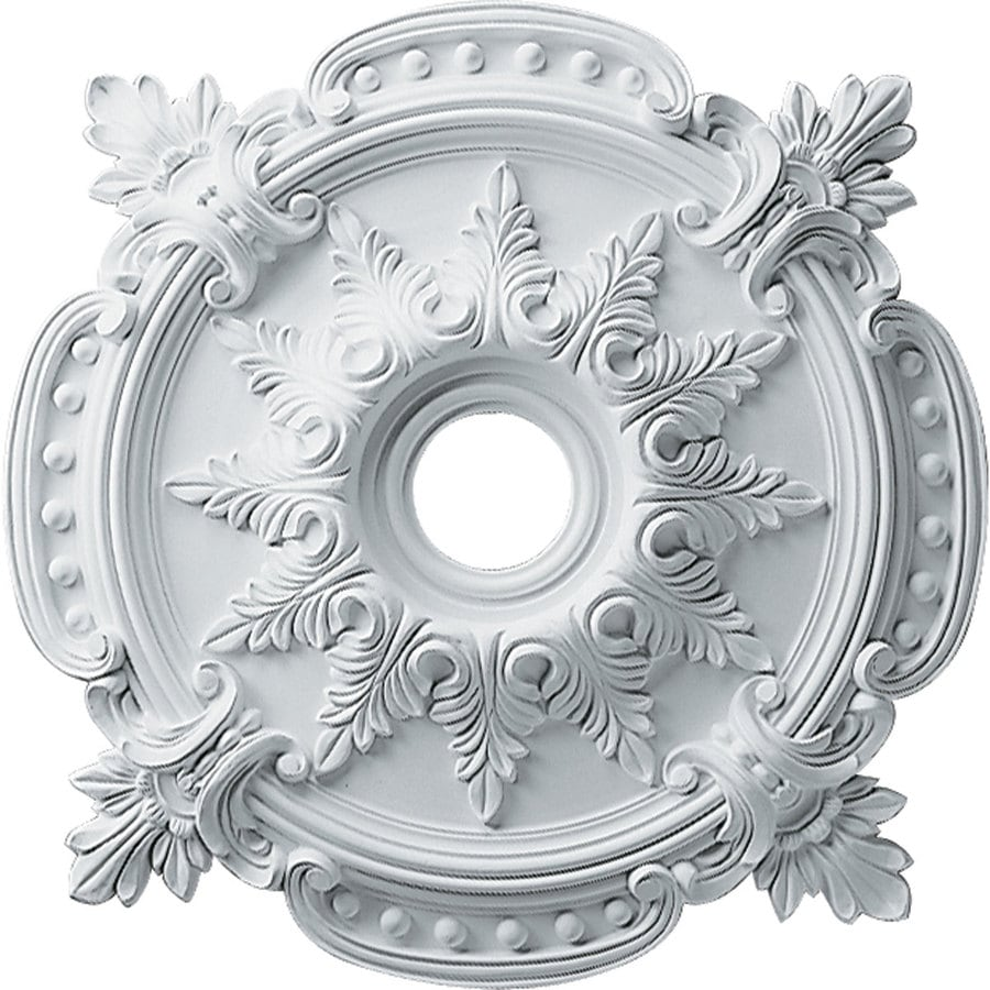 classic ceiling medallion ekena pin in millwork