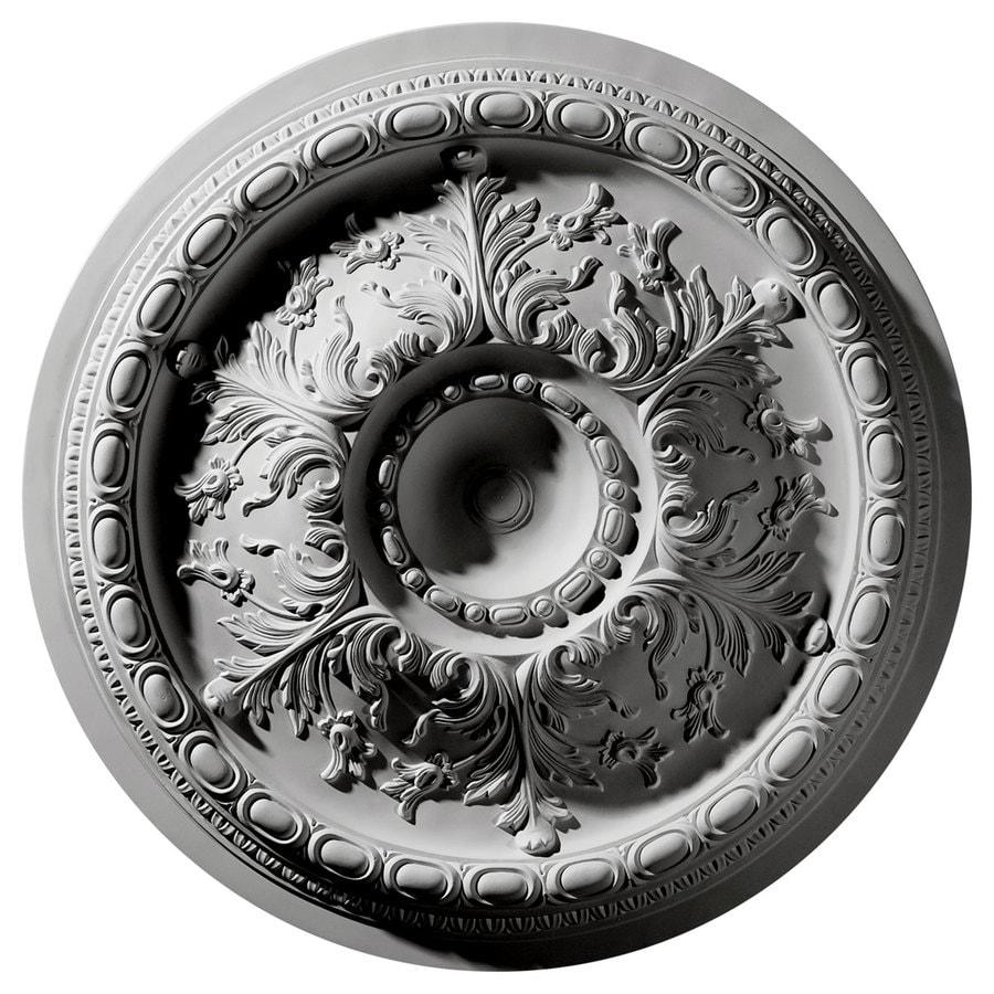 Ekena Millwork Stockport 28-in x 28-in Polyurethane Ceiling Medallion