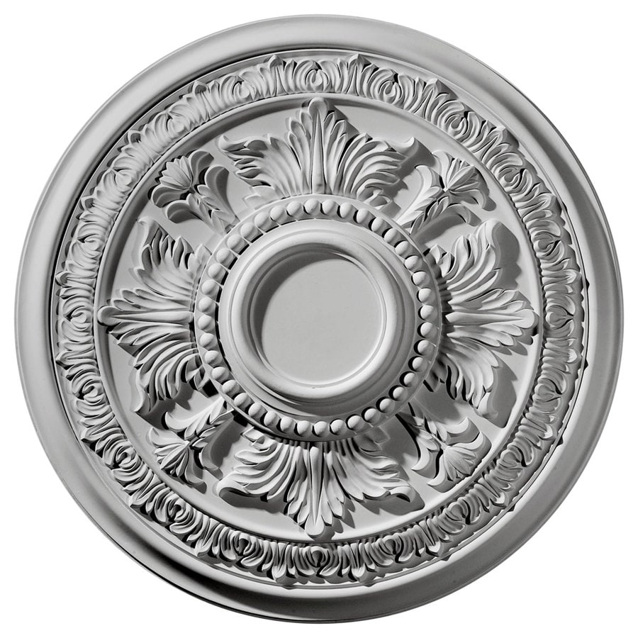 Ekena Millwork Tellson 30.625-in x 30.625-in Polyurethane Ceiling Medallion