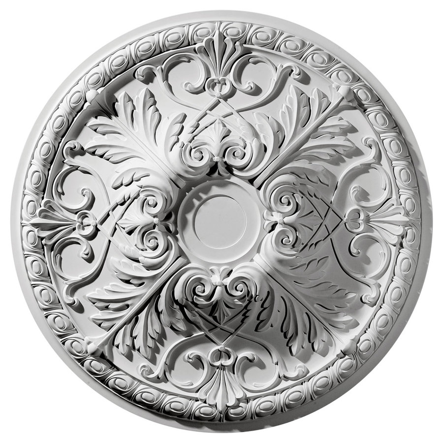 Ekena Millwork Tristan 32.375-in x 32.375-in Polyurethane Ceiling Medallion