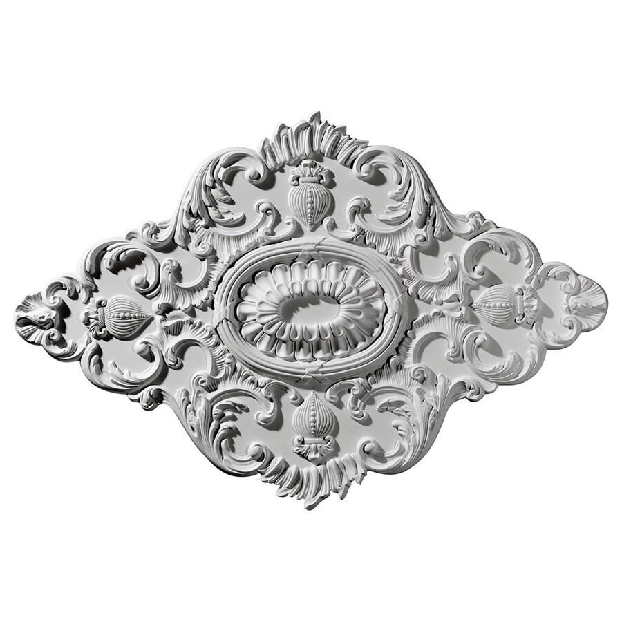 Ekena Millwork Ashford 42.75-in x 28.875-in Polyurethane Ceiling Medallion