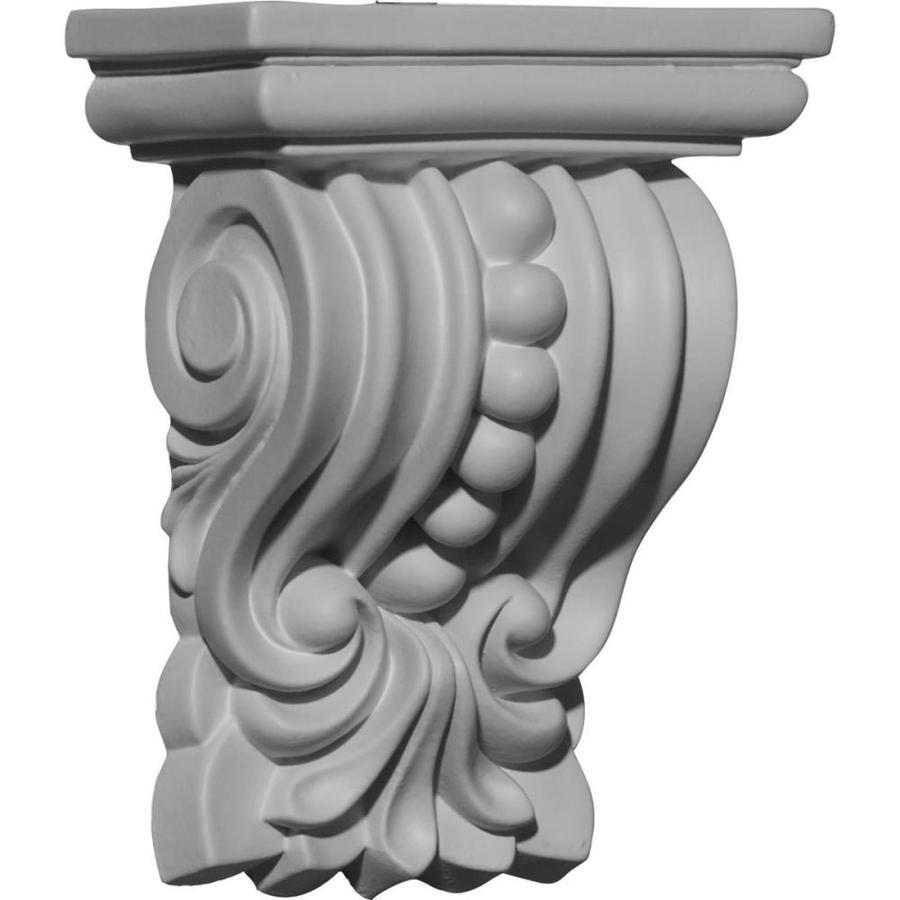 Ekena Millwork 4.375-in x 5.625-in Palmetto Polyurethane Corbel