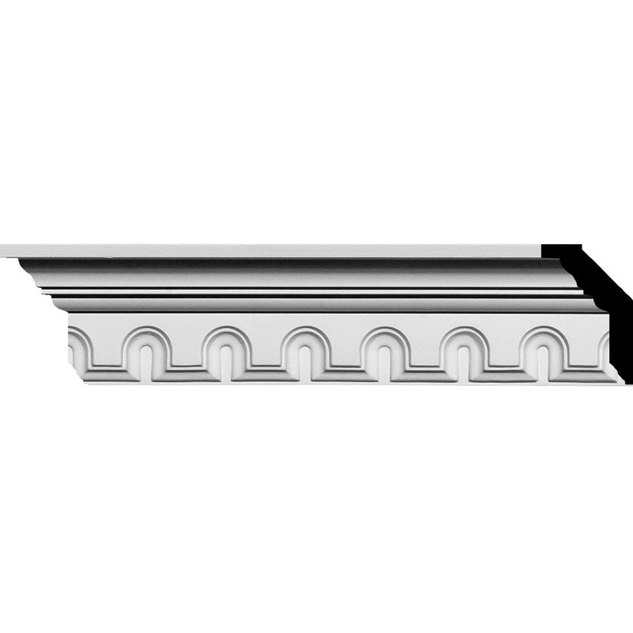Ekena Millwork 3.125-in x 7.89-ft Polyurethane Heaton Crown Moulding