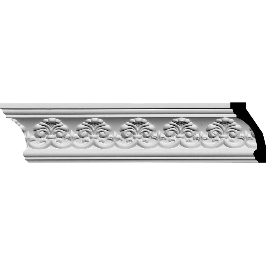 Ekena Millwork 3.875-in x 7.88-ft Polyurethane Hampshire Crown Moulding