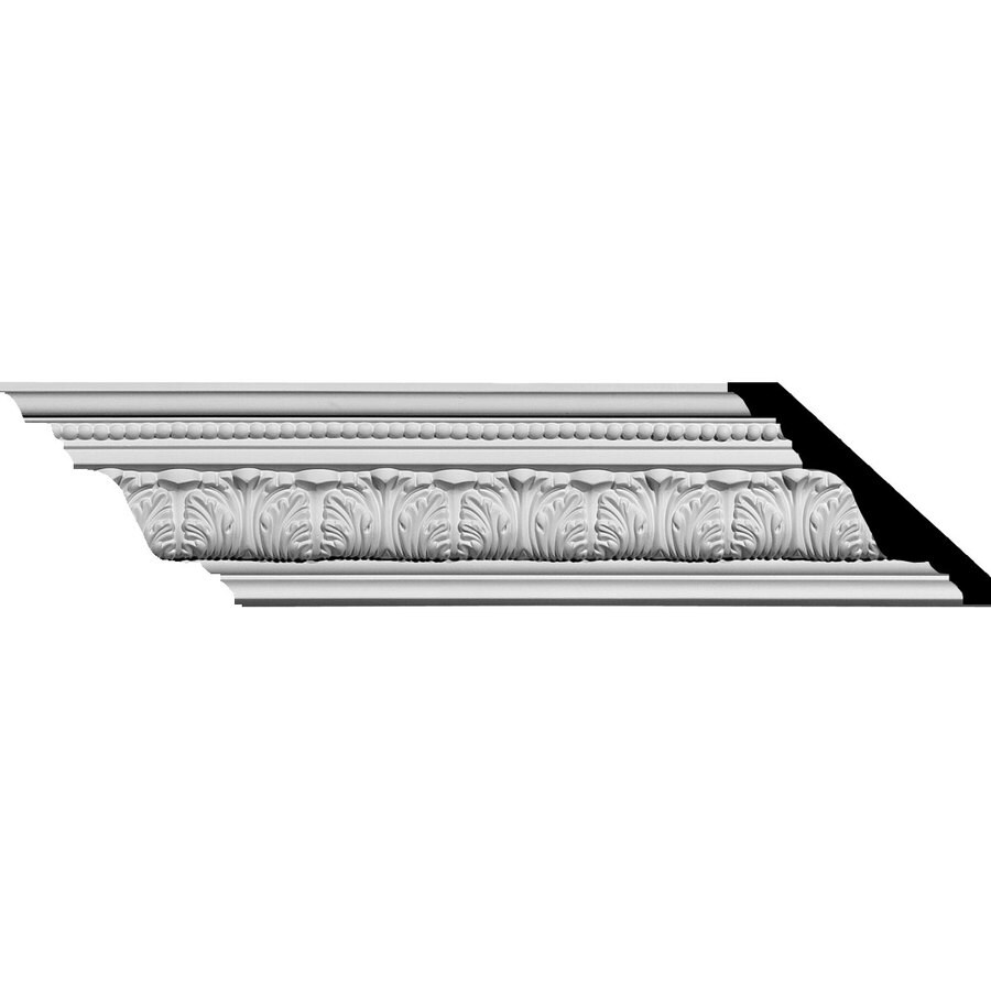 Ekena Millwork 3.75-in x 7.89-ft Polyurethane Palmetto Crown Moulding