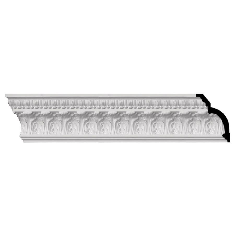Ekena Millwork 7.75-in x 8-ft Primed Polyurethane Crown Moulding