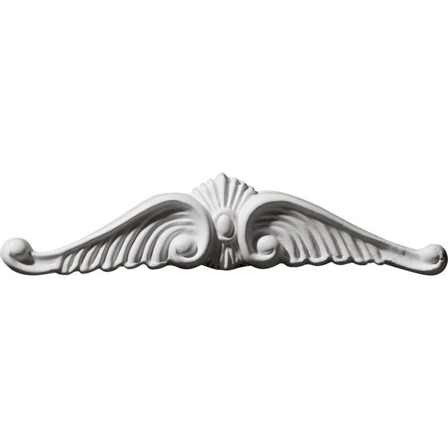 Ekena Millwork 5.625-in x 1.375-in Wings Urethane Applique