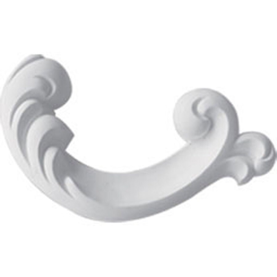 Ekena Millwork 5.25-in x 2.5-in Maria Primed Urethane Applique