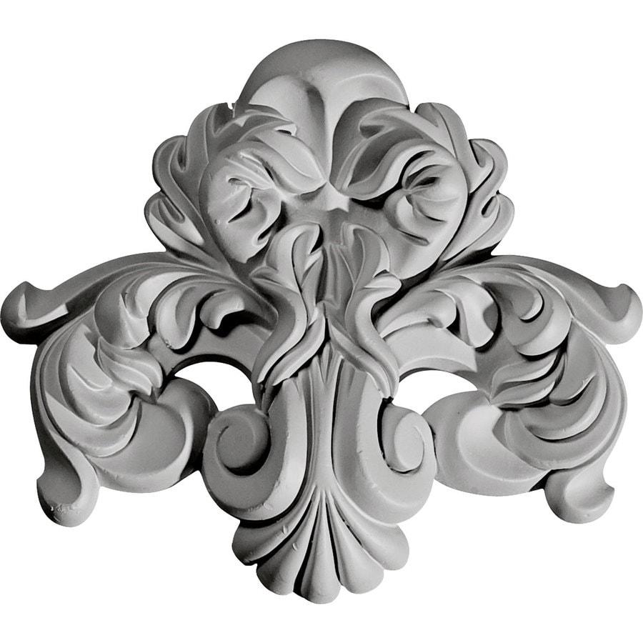 Ekena Millwork 7.375-in x 6.5-in Benson Urethane Applique