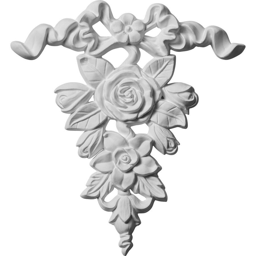 Ekena Millwork 8.5-in x 9-in Urethane Applique