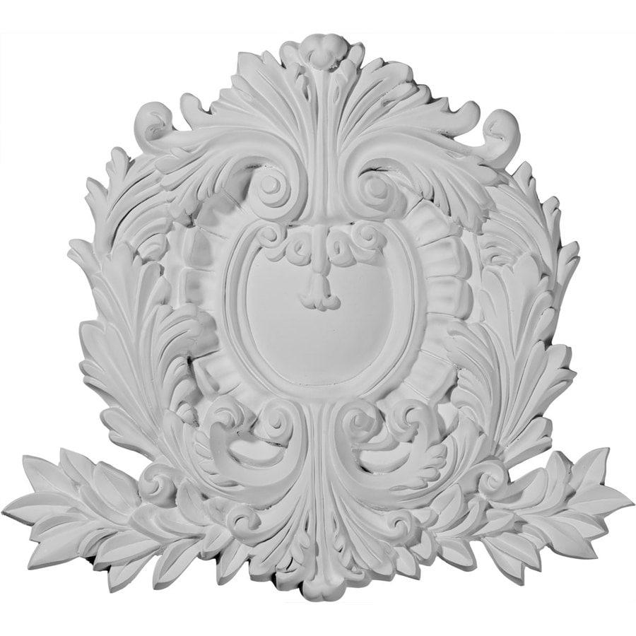 Ekena Millwork 11.375-in x 10.625-in Modena Urethane Applique