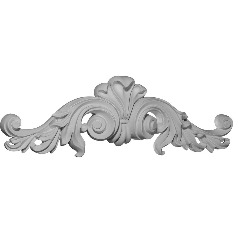 Ekena Millwork 23.5-in x 7.25-in Scroll Urethane Applique