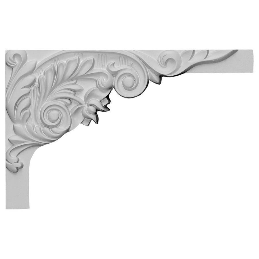 Ekena Millwork 11-in x 7-in Springtime Urethane Applique