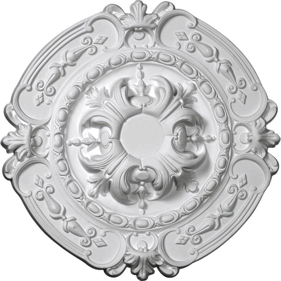 Ekena Millwork Southampton 16.375-in x 16.375-in Urethane Ceiling Medallion
