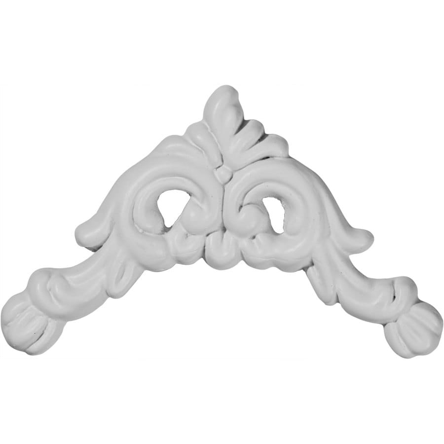 Ekena Millwork 3.75-in x 3.75-in Primed Urethane Applique