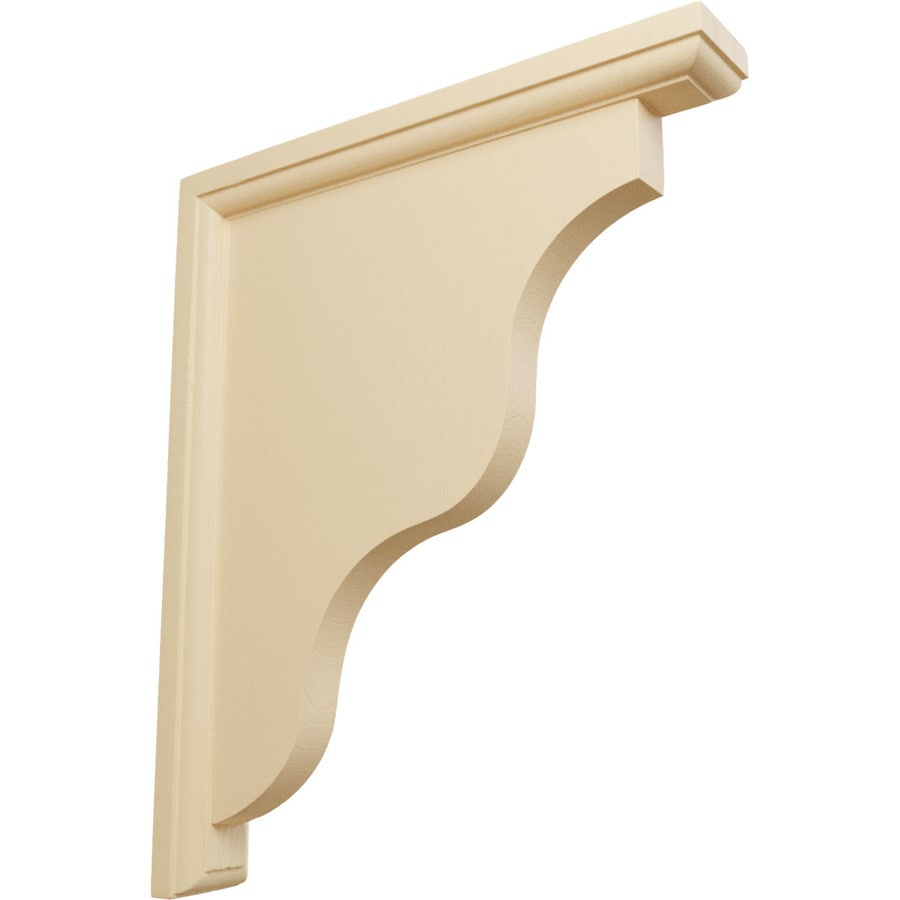 Ekena Millwork 1.5-in x 11-in Maple Hamilton Wood Corbel