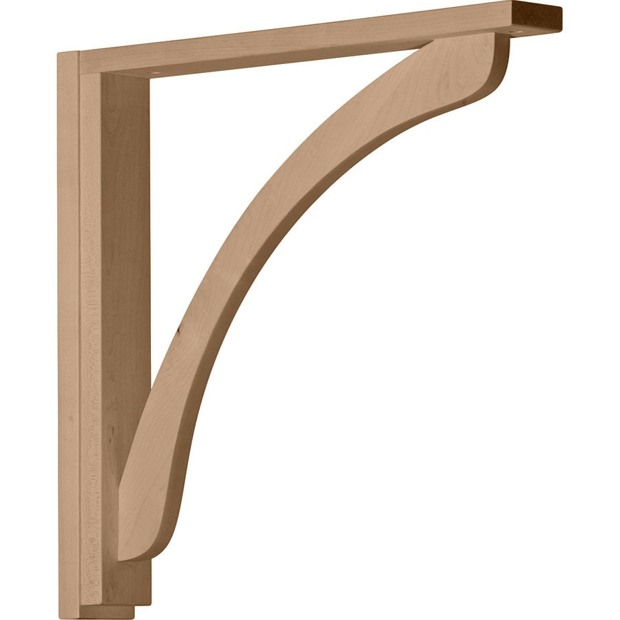 Ekena Millwork 2.5-in x 17.25-in Maple Corbel