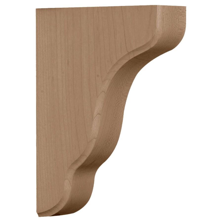 Ekena Millwork 1.75-in x 7.5-in Alder Plymouth Wood Corbel
