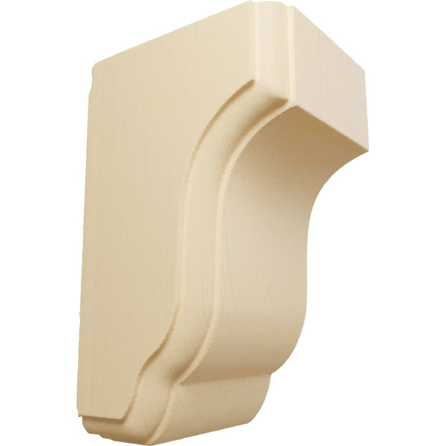 Ekena Millwork 2.5-in x 4.5-in Capistrano Mission Maple Corbel