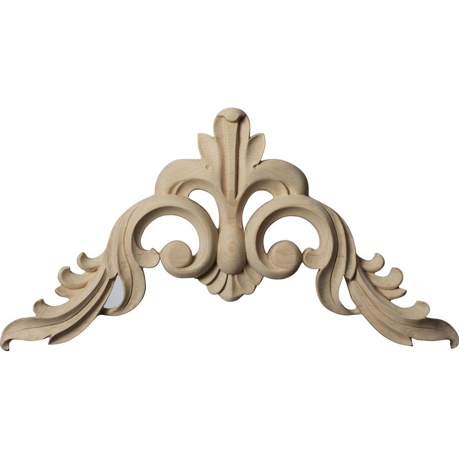 Ekena Millwork 8-in x 8-in Wood Applique