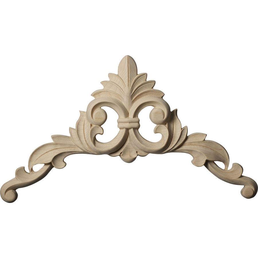 Ekena Millwork 8-in x 8-in Caputo Wood Applique