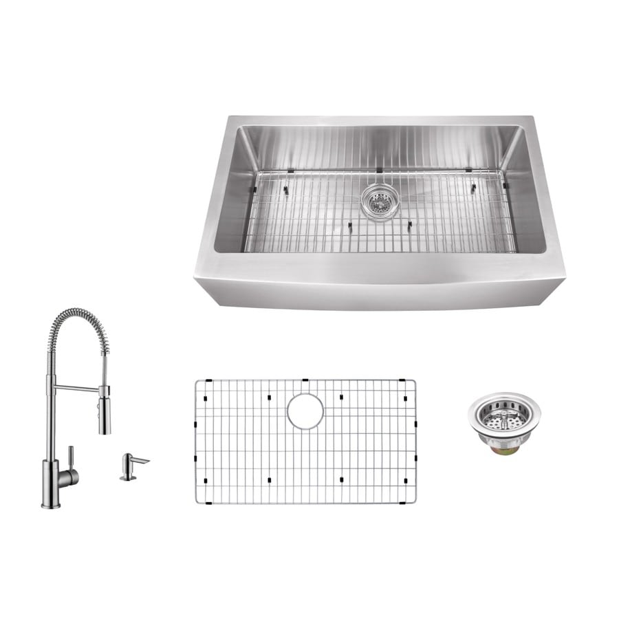 Commercial Sink Wrench : ... Basin Stainless Steel Apron Front/Farmhouse Commercial/Residential