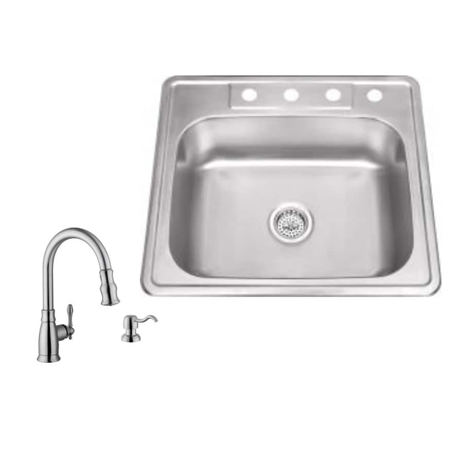 Commercial Sink Wrench : ... Hole Commercial/Residential Kitchen Sink All-In-One Kit at Lowes.com