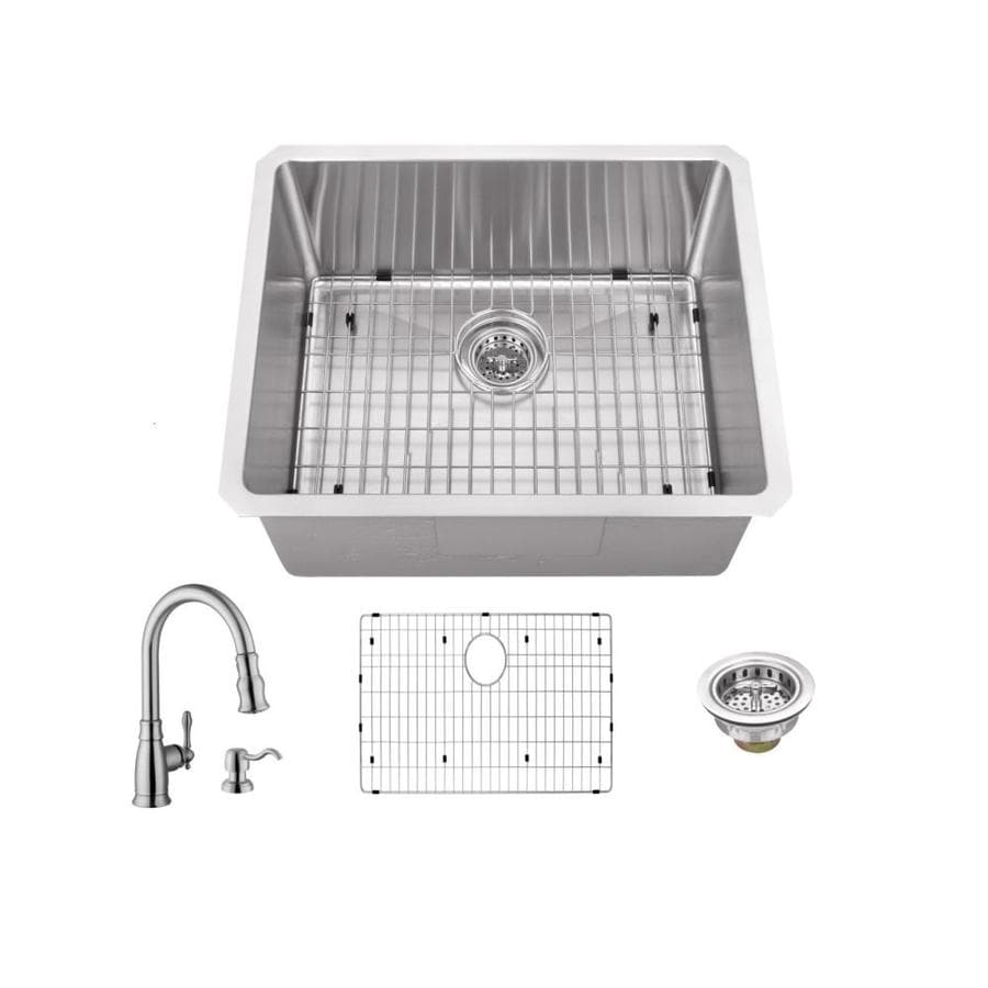 Superior Sinks Brushed Satin Stainless Steel Undermount Commercial/Residential Bar Sink