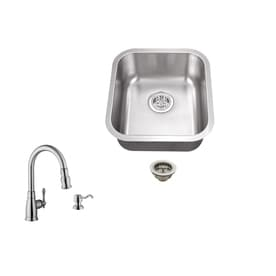 Merveilleux Superior Sinks Brushed Satin Stainless Steel Undermount  Commercial/Residential Bar Sink