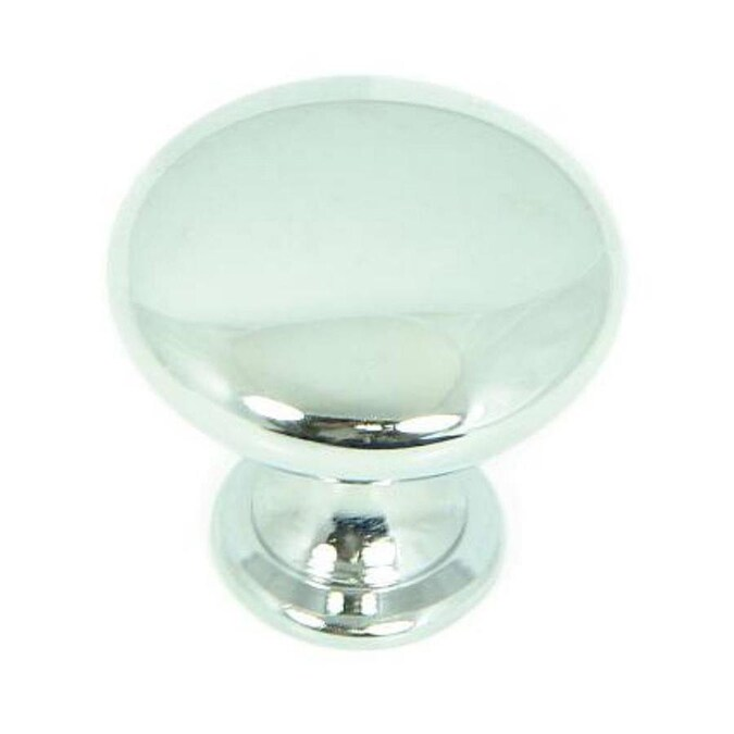 Stone Mill Hardware 1.25-in Polished Chrome Round