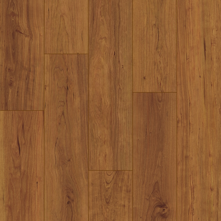 Style Selections Swiftlock Plus 5 5 In W X 4 23 Ft L Cherry Wood Plank