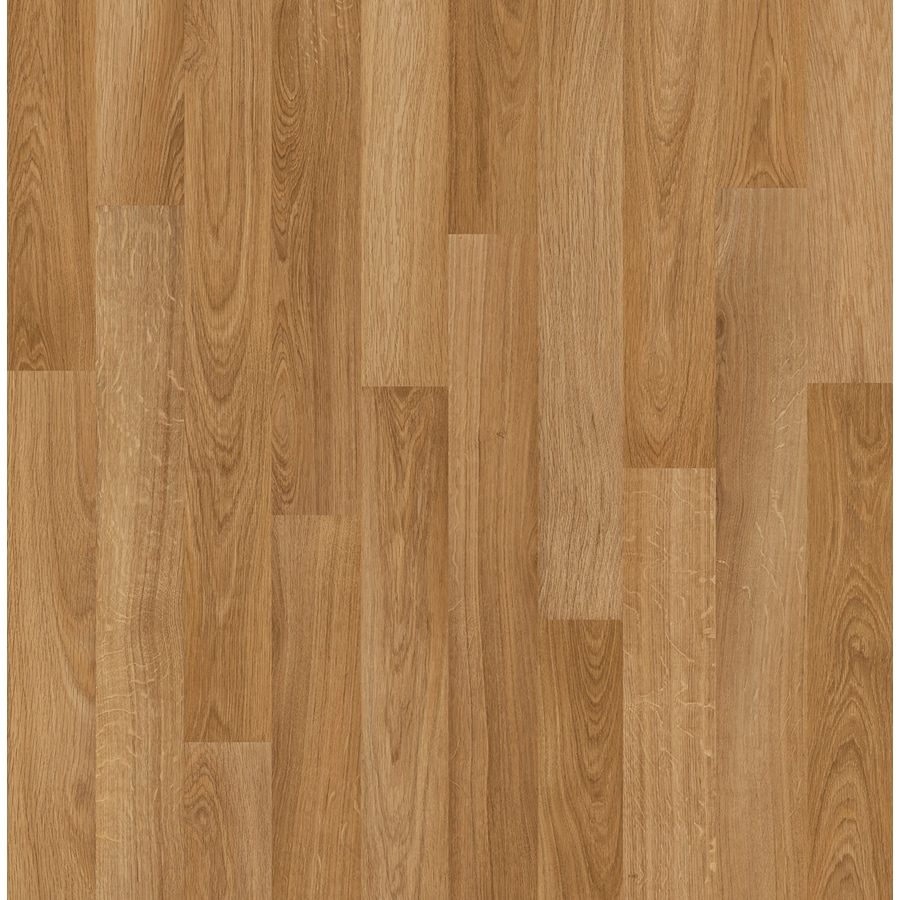Style Selections Swiftlock 76 In W X 423 Ft L North Bend Oak Wood