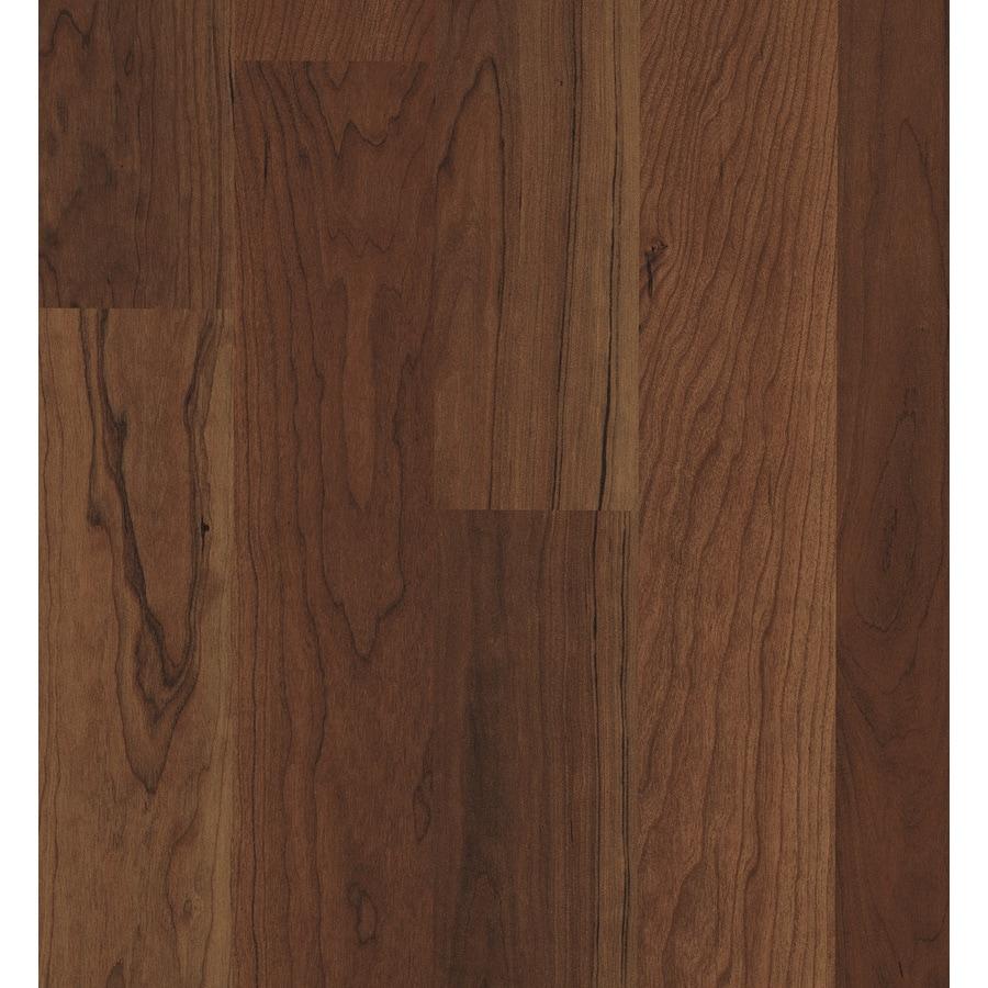 Swiftlock 7 6 In W X 4 23 Ft L Crimson Cherry Wood Plank Laminate Flooring