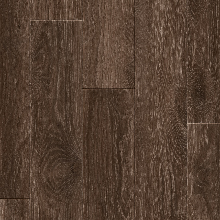 Project Source Woodfin Oak 7 59 In W X 4 23 Ft L Embossed