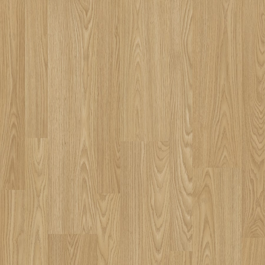 "Project Source 8""W x 51""L Tan Laminate Flooring"