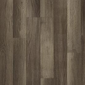 Style Selections Aged Gray Oak 7 59 In W X 4 23 Ft L Smooth Wood