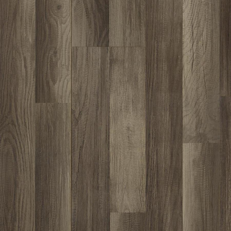 Style Selections Aged Gray Oak Wood Planks Laminate Sample