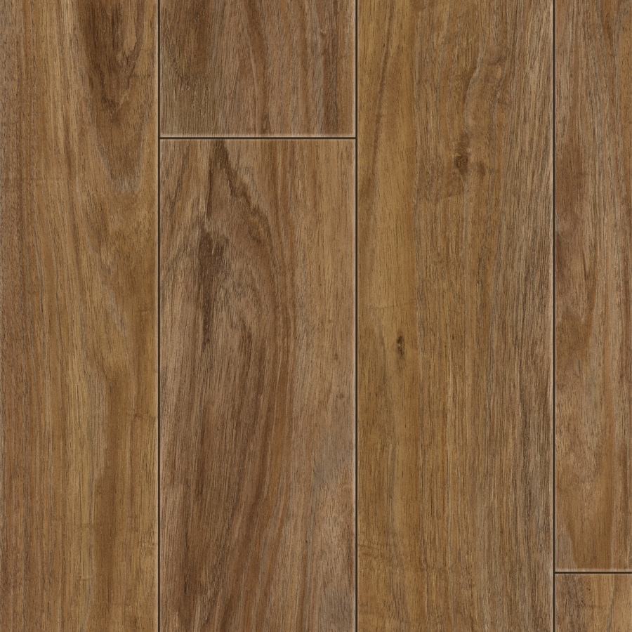 Style Selections 4.96-in W x 4.23-ft L Acacia Blackwood Smooth Wood Plank Laminate Flooring