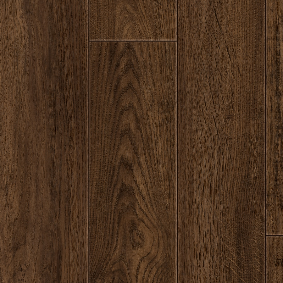 Style Selections Handscraped Sable Oak Wood Planks Laminate Flooring Sample