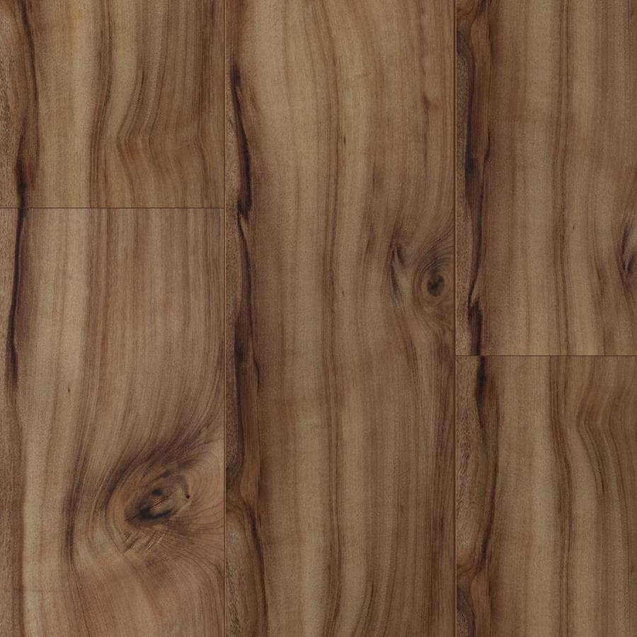 shop style selections 7.6-in w x 4.23-ft l natural acacia smooth