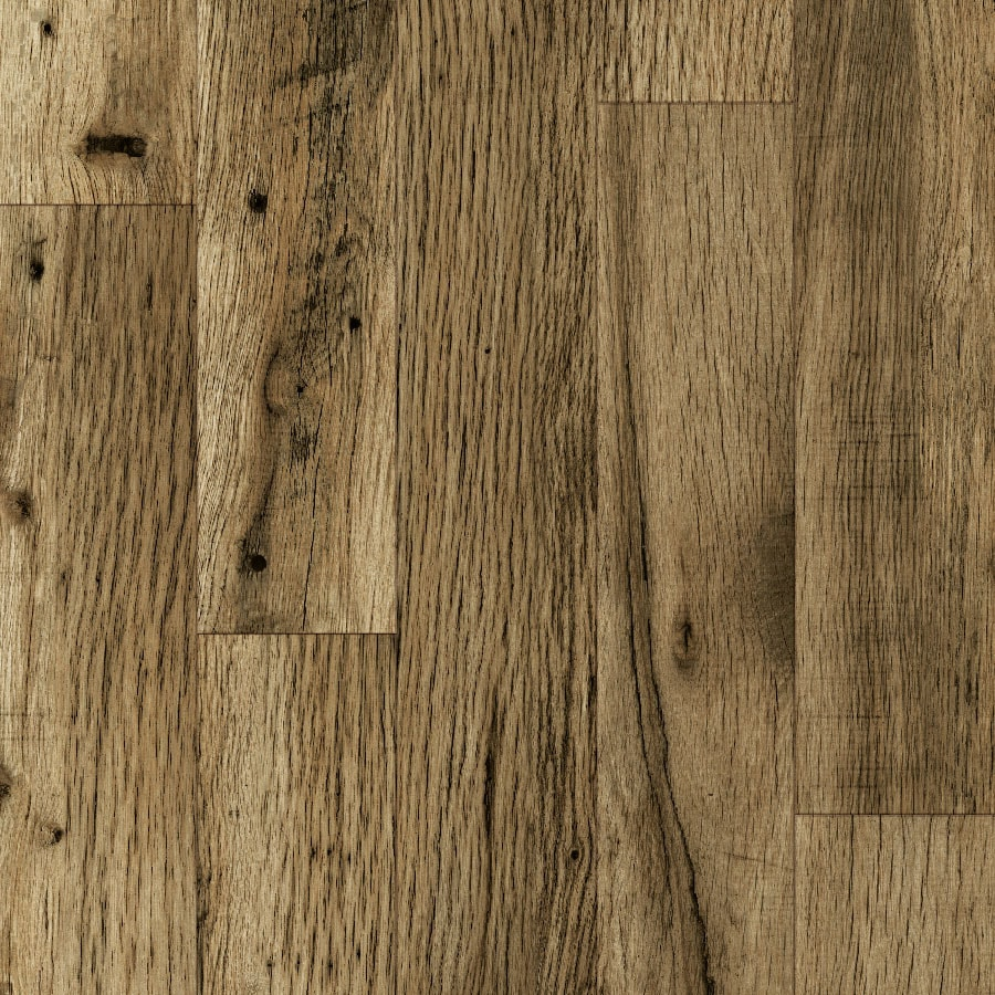 allen + roth 4.96-in W x 4.23-ft L Rustic Mill Oak Wood Plank Laminate Flooring