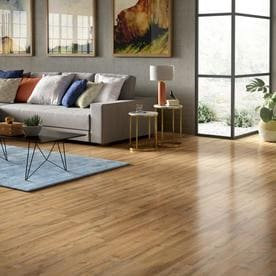 Shop Style Selections Tavern Oak 7 59 In W X 4 23 Ft L