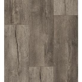 allen + roth Lodge Oak 7.59-in W x 4.23-ft L Embossed Wood
